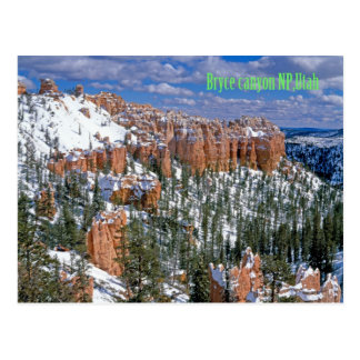 Bryce canyon national park,Utah Postcard