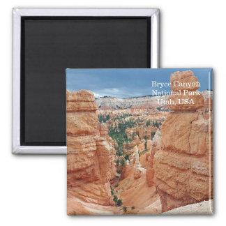 Bryce Canyon National Park Utah USA travel Square Magnet