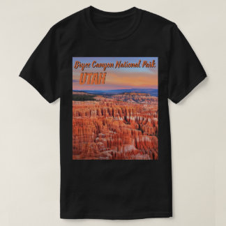 Bryce Canyon Nat'l Park Desert Sunset Photo T-Shirt