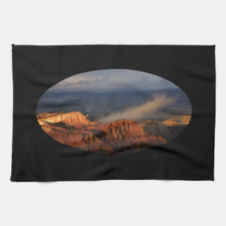 Bryce Canyon storm Kitchen Towel