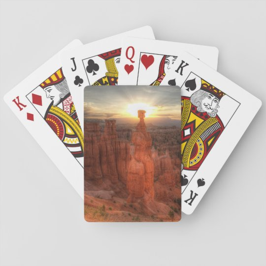 Bryce Canyon Thor's Hammer Playing Cards