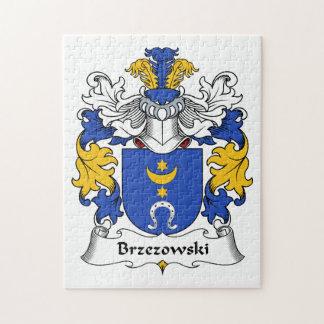 Brzezowski Family Crest Jigsaw Puzzle
