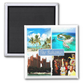BS * Bahamas Square Magnet