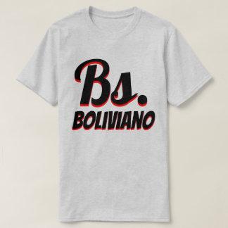 Bs. Bolivian boliviano grey T-Shirt