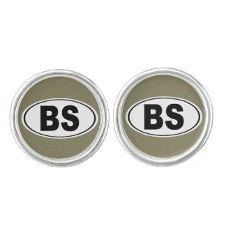 BS Bonita Springs Florida Cufflinks