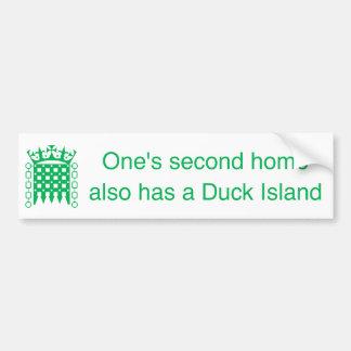 BS_DuckIsland Bumper Sticker