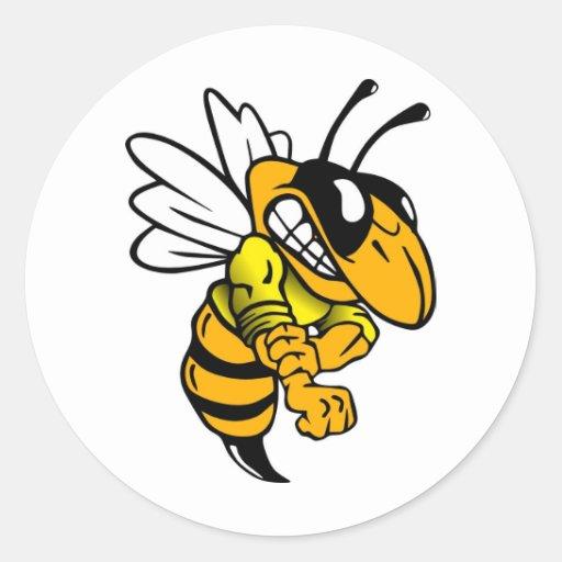 Bsaa Yellow Jackets Under 8 Sticker