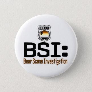 BSI:  Bear Scene Investigation 2 Inch Round Button