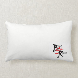 BSR White Logo Lumbar Pillow
