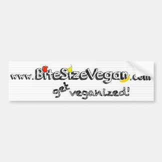 BSV Get Veganized Bumper Sticker