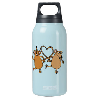 BT- Dancing Mice Insulated Water Bottle