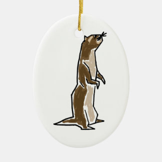 BT- Funky Ferret Ornament