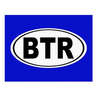 BTR Baton Rouge Louisiana Postcard