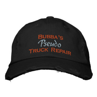 Bubba Embroidered Hat