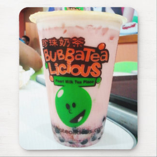 Bubbatealicious Cold Beverage Mouse Pad