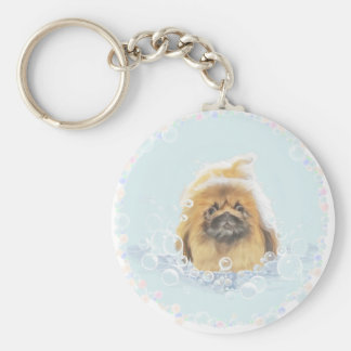 Bubble Bath Keychain
