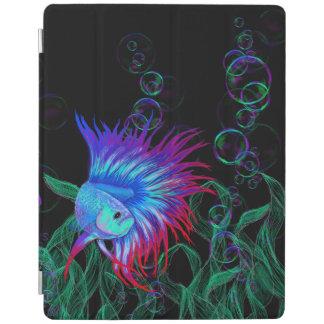 Bubble Betta iPad Cover