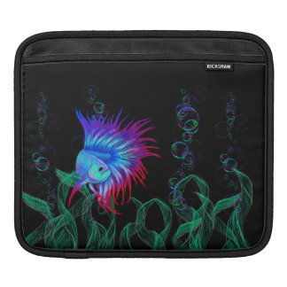 Bubble Betta iPad Sleeve