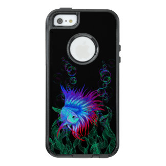 Bubble Betta OtterBox iPhone 5/5s/SE Case