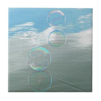 Bubble, Blue Tile