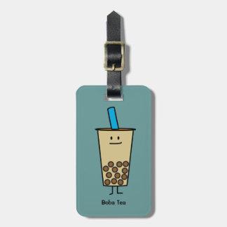 Bubble Boba Pearl Milk Tea Tapioca balls Luggage Tag