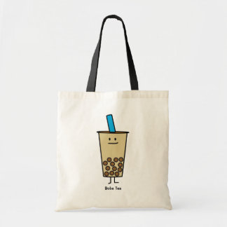 Bubble Boba Pearl Milk Tea Tapioca balls Tote Bag