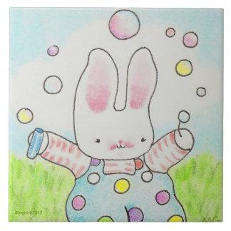 Bubble bunny tile