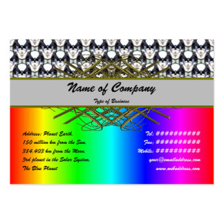 Bubble City Pack Of Chubby Business Cards