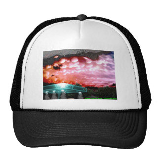 Bubble Cloud Remix Hat / White Noise Collection