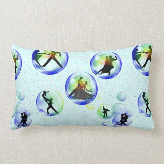 Bubble Dancers Lumbar Pillow