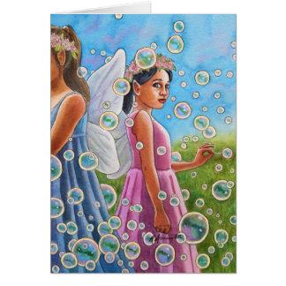Bubble Fairies Card
