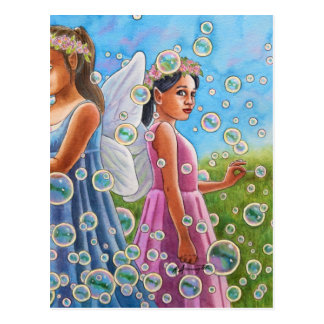 Bubble Fairies Postcard