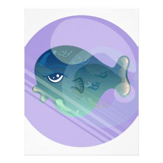 Bubble Fish Letterhead