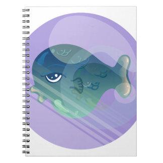 Bubble Fish Notebooks