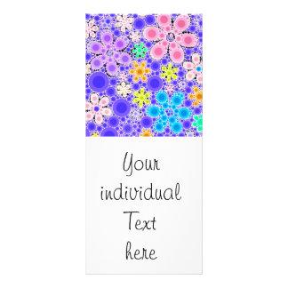 Bubble Flowers Rack Cards