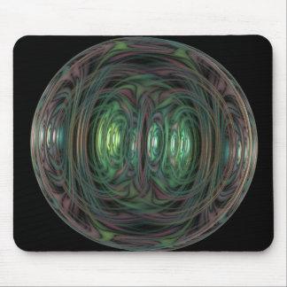 bubble fractal mouse mat