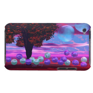 Bubble Garden - Rose and Azure Wisdom Barely There iPod Covers