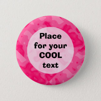 Bubble Gum Factory Accident Template (round) 2 Inch Round Button