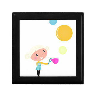 BUBBLE GUM KID. KID WITH BUBBLES GIFT BOX