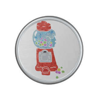 Bubble gum machine. bluetooth speaker