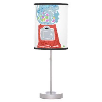 Bubble gum machine. table lamps