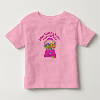 Bubble Gum Machine Toddler T-shirt