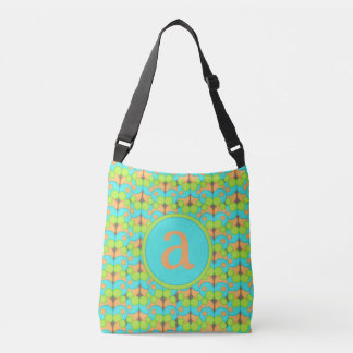 Bubble Gum Monogram Crossbody Bag