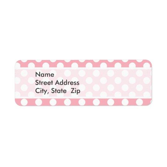 Bubble Gum Pink Polka Dots