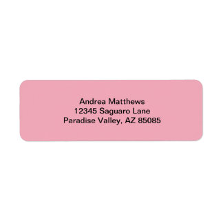 Bubble Gum Pink Solid Color