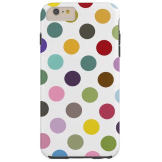 Bubble-gum Polkadot Coque iPhone 6 Plus Tough