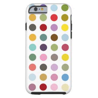 Bubble-gum Polkadot Coque Tough iPhone 6