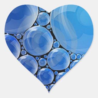 Bubble Heart Sticker