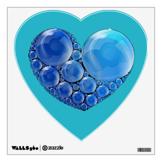 Bubble Heart Wall Decal