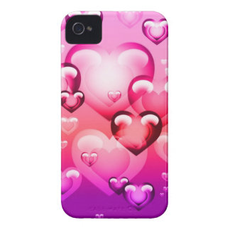 Bubble Hearts iPhone 4 Speck Case